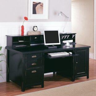 Double Pedestal Computer Desk Wayfair