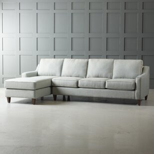 Jesper Reversible Sectional by Wayfair Custom Upholstery™