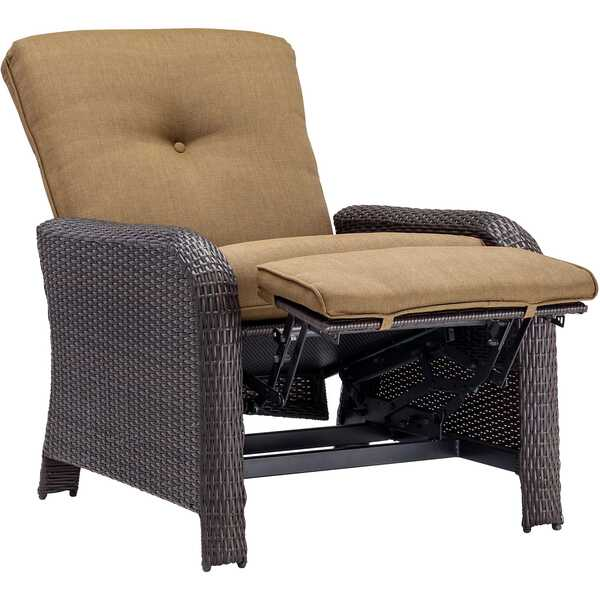 100% Hand-Woven Resin  sc 1 st  Wayfair & Brayden Studio Billington Reclining Deep Chair with Cushions ... islam-shia.org