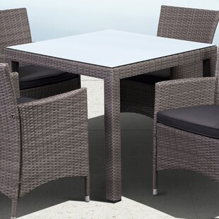 Charmaine Metal Dining Table by Bloomsbury Market