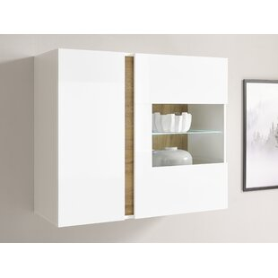 Dye Wall Mounted Display Cabinet By Ebern Designs