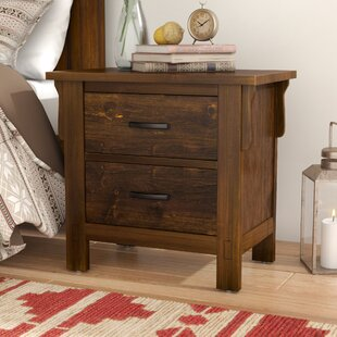 Waynoka 2 Drawer Nightstand
