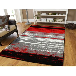 Grieco Red Indoor/Outdoor Area Rug