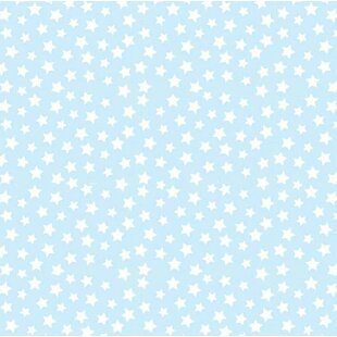 Compare Stars Pastel Woven Flat Crib Sheet BySheetworld