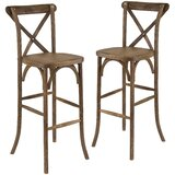 Pitre Bar Stool (Set of 2) by Gracie Oaks