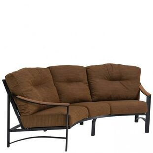 Brazo Crescent Patio Sofa with Cushions