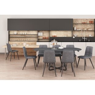 Gaston Extendable Dining Set With 8 Chairs By Ebern Designs