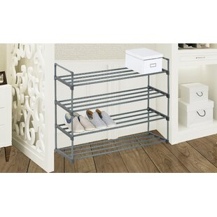 Find 20 Pair Stackable Shoe Rack By Rebrilliant