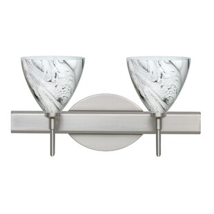 Best Choices Mia 2-Light Vanity Light By Besa Lighting
