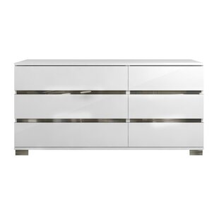 Spark 6 Drawer Double Dresser