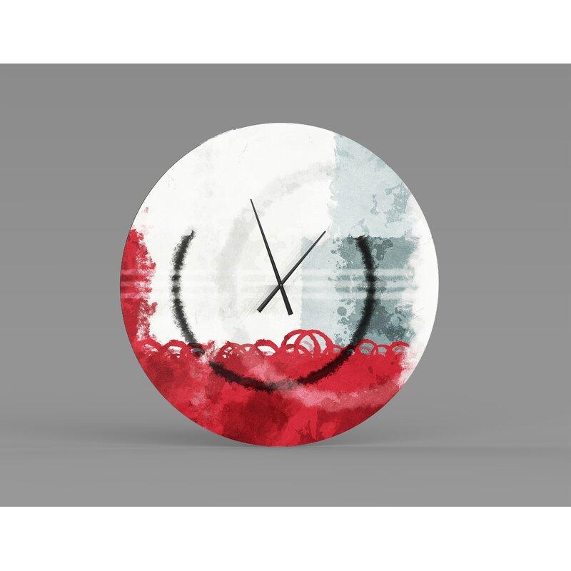 Orren Ellis Oversized Phillipe Wall Clock Wayfair