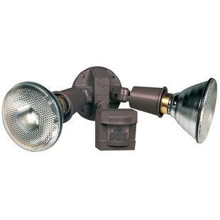 Comparison 2-Light Outdoor Spotlight By Heathco