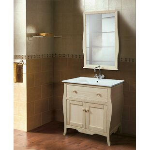 Eastbrook 820mm Free-standing Single Vanity Unit By August Grove