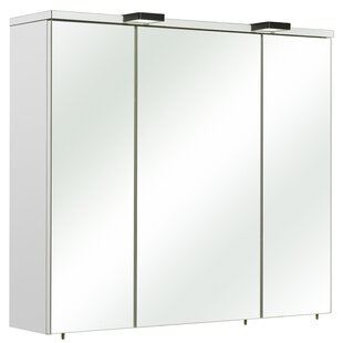 Belgrad 80 X 70cm Mirrored Wall Mounted Cabinet By Quickset