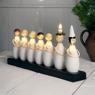 7 White/Black Luciatag Lamp By The Seasonal Aisle