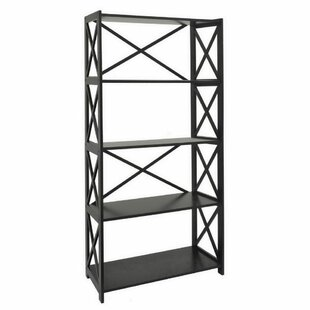 August Grove Mershon Wood Etagere Bookcase