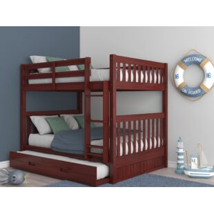 Where buy  Herculaneum Full over Full Bed with Trundle by Harriet Bee Reviews (2019) & Buyer's Guide