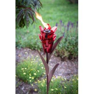 Desert Steel Ginger Garden Torch
