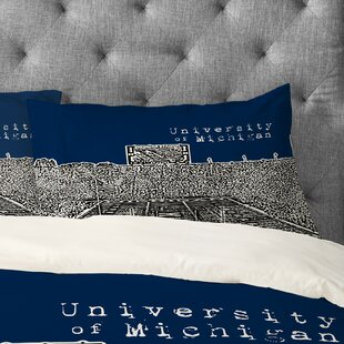 Bird Ave University of Michigan Pillowcase