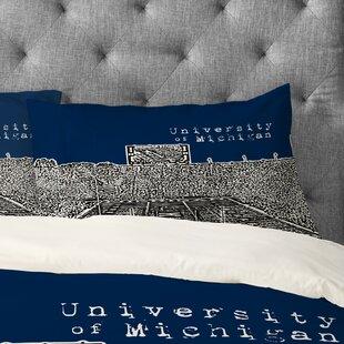 Bird Ave University of Michigan Pillowcase