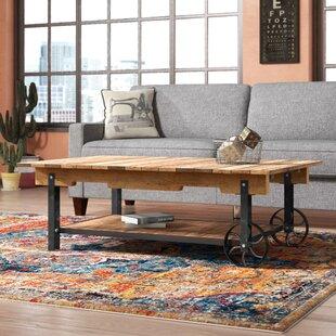 Trent Austin Design Wooden Coffee Table
