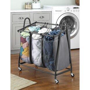Price Check Arch Triple Laundry Sorter By Rebrilliant