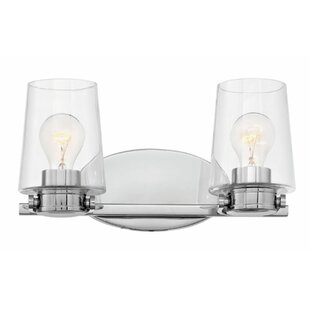 Reviews Branson 2-Light Vanity Light By Hinkley Lighting