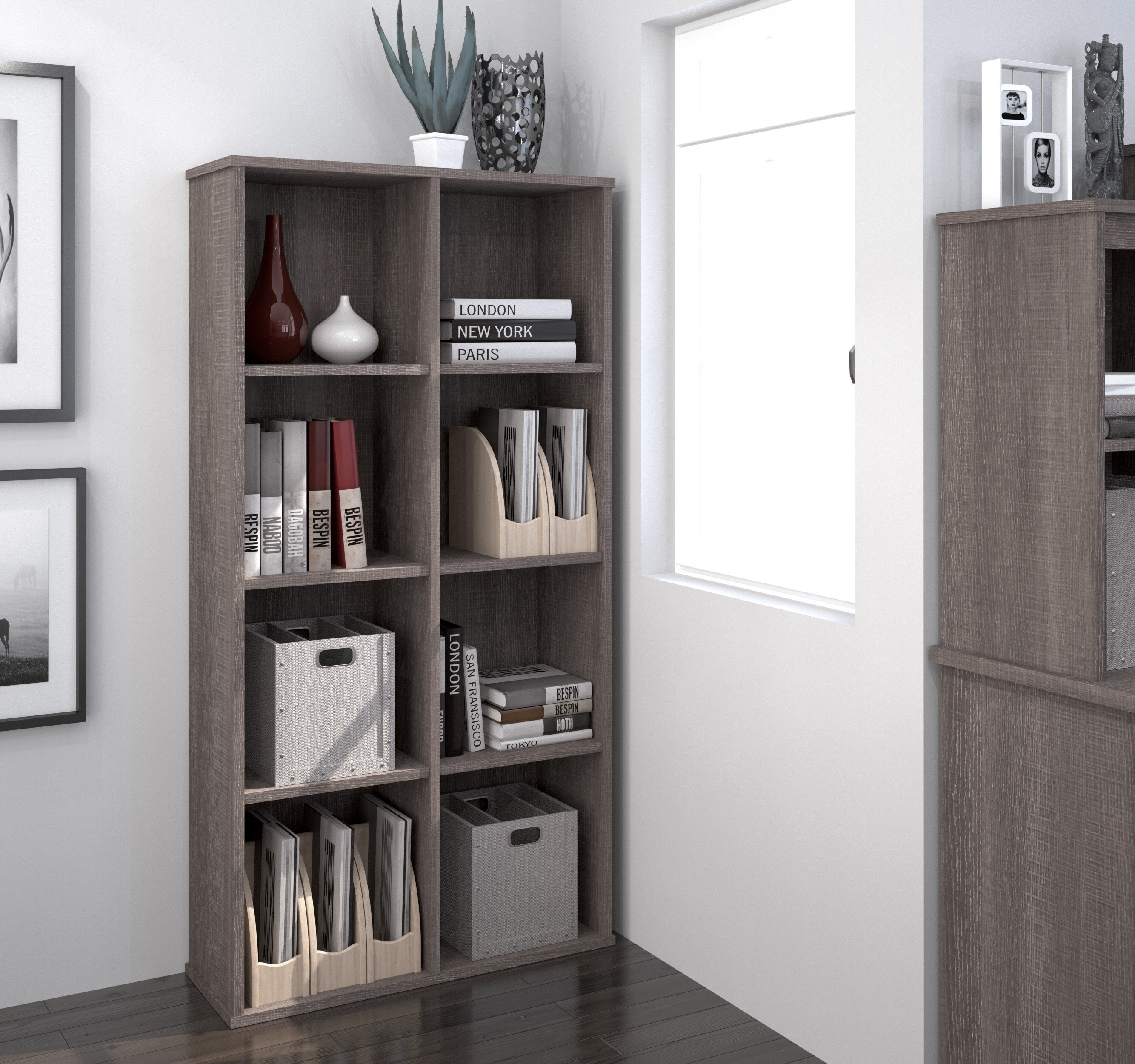 Red Barrel Studio Avery Cubby Bookcase Reviews Wayfair