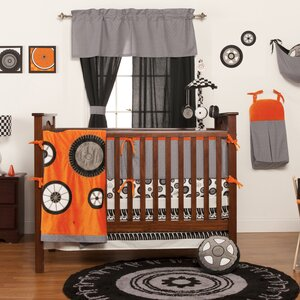Teyo's Tires 3 Piece Crib Bedding Set