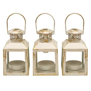 Price Check Mini Metal Lantern (Set of 3) By Astoria Grand