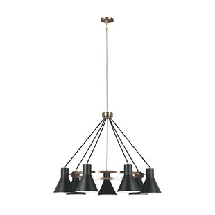 Alton 7-Light Modern Shaded Chandelier by 17 Stories