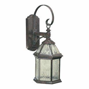 Bargain Otterville Modern 1-Light Outdoor Wall Lantern By Three Posts