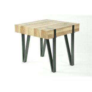 Burdine End Table by Williston Forge