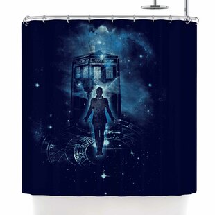 Frederic Levy-Hadida Time Traveller Single Shower Curtain