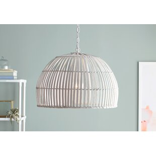 Delmore 1-Light Dome Pendant