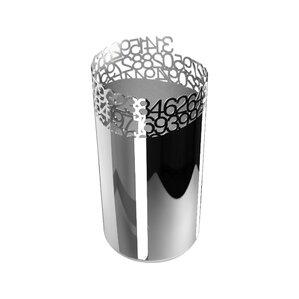 Pi 1 Bottle Tabletop Wine Rack by Steelforme