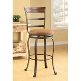 Bartow Swivel Bar Stool (Set of 2) by Fleur De Lis Living