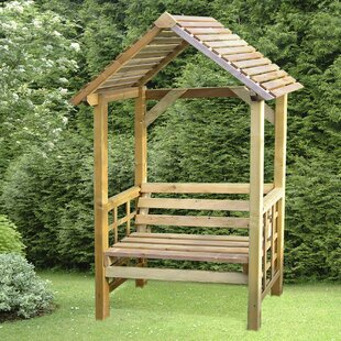Varney  Wooden Arbour By Sol 72 Outdoor
