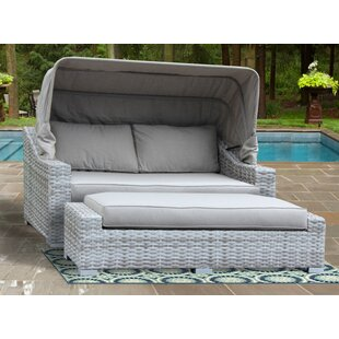 Luka Patio Daybed with Sunbrella Cushions