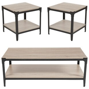 St James 3 Piece Coffee Table Set