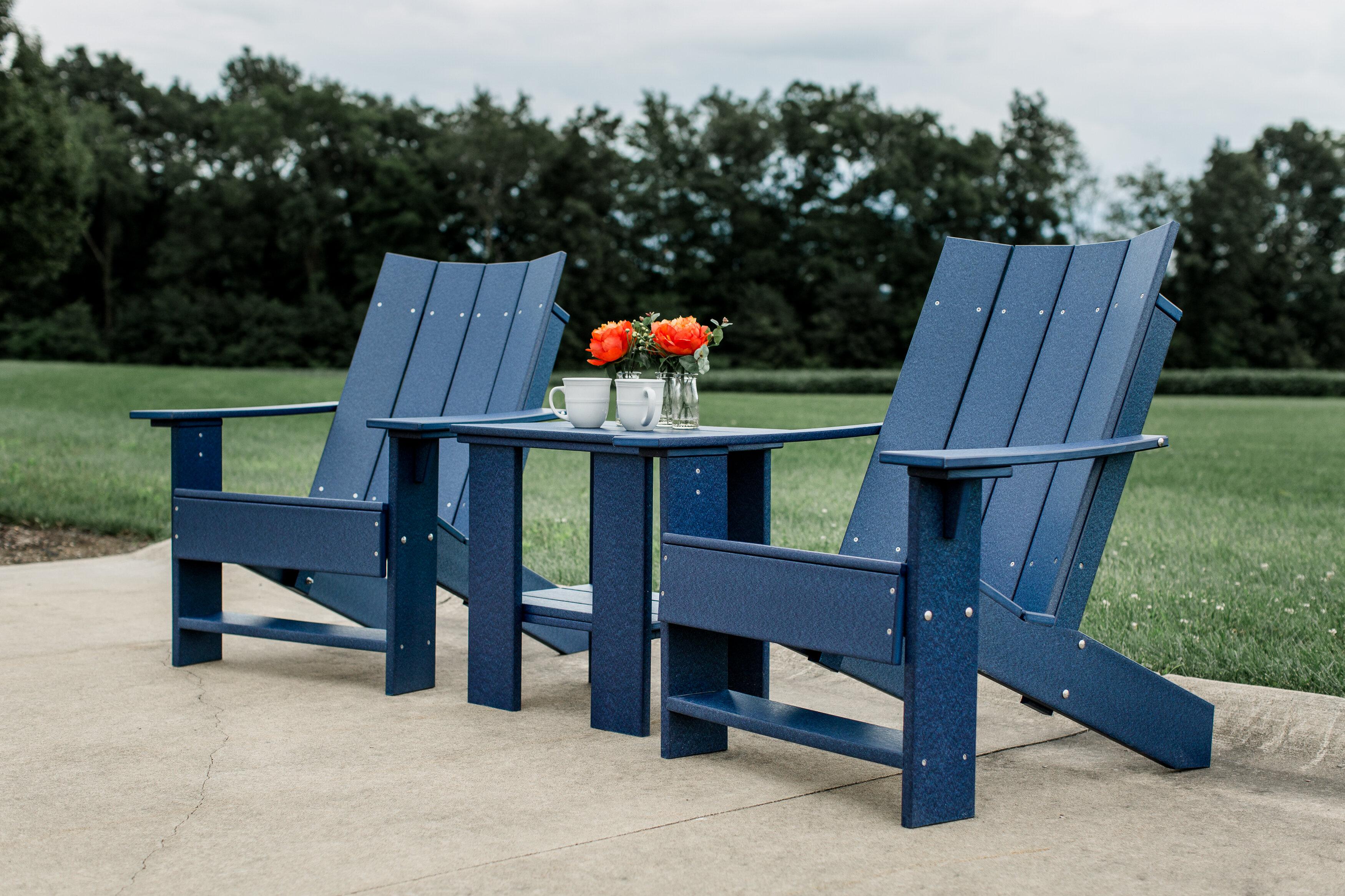 Isidoro Plastic Adirondack Chair