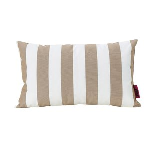 Bridgwater Rectangular Striped Outdoor Lumbar Pillow