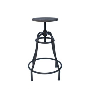 Higuera Swivel Adjustable Bar Stool By Borough Wharf