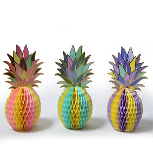 Pineapple Sculpture (Set of 3)