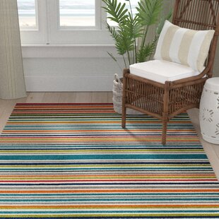 Strathaven Turquoise Indoor/Outdoor Area Rug