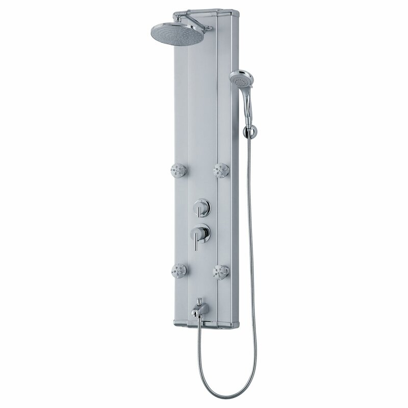 LessCare Adjustable Massage Jets and Thermostatic Valve Controls ...
