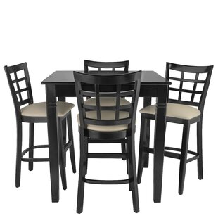 Weinman 5 Piece Pub Table Set by Red Barrel Studio