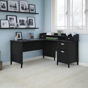 Great choice Connecticut L-Shape Executive Desk By Kathy Ireland Office by Bush
