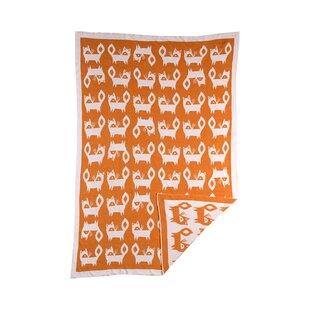 Top Reviews Woods Fox Mod Jacquard Blanket ByLolli Living