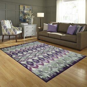 thea purple area rug